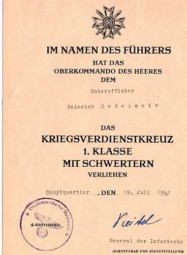 Keitel signed doc