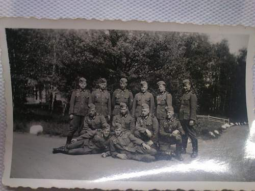 My photograph collection of German soldiers