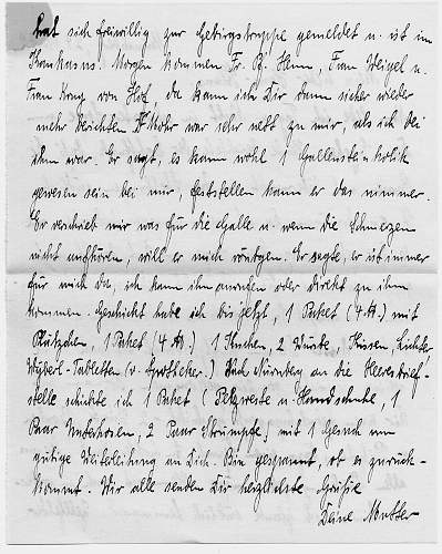 Letters From German Officer.