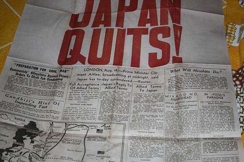 Daily mail end of the war in japan on 15 august 1945