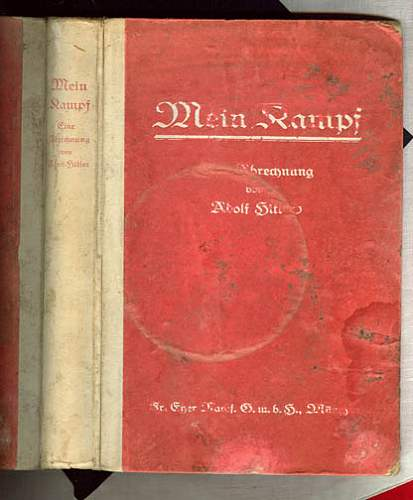 First edition Mein kampf. Is it worth it.