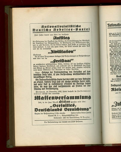 mein kampf essay We need to look today at what hitler himself wrote in mein kampf thus  at the  london school of economics, wrote an essay in the guardian.