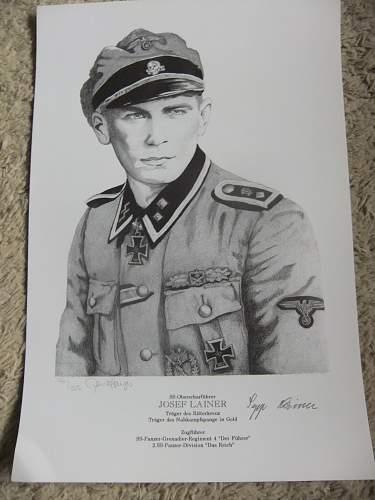 SS Hauptscarfuhrer Sepp Lainer !