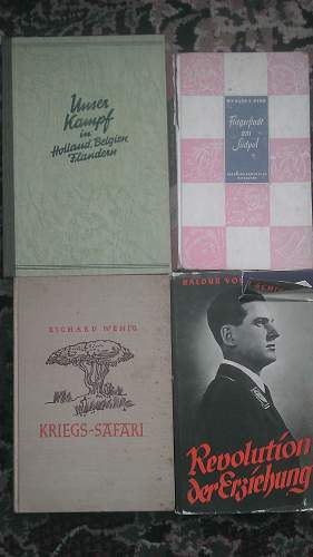 Large Haul of Third Reich Publications and Postcards