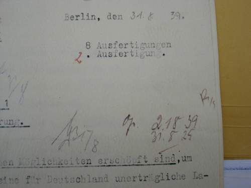 Hitler's directive #1-Conduct of War