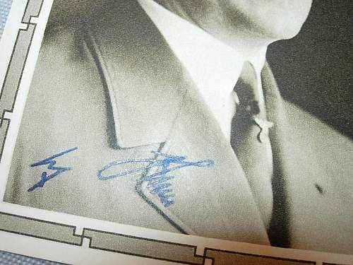Is this Hitler's signature is original or fake ?