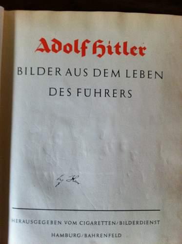Adolf Hitler's signature, opinions needed