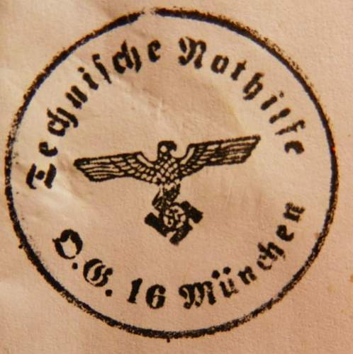 TeNo rubber stamp