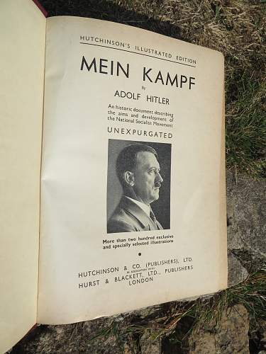 Hitlers Mein Kampf in English