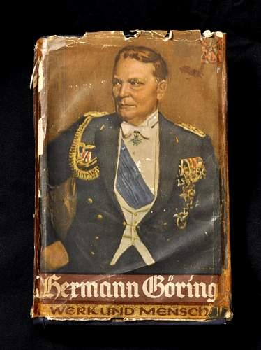 Hermann Goring, Werk und Mensch; with Gau stamps