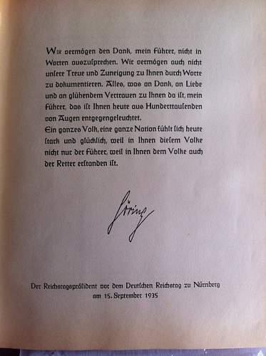 Adolf Hitler 1936 Cigarette Album