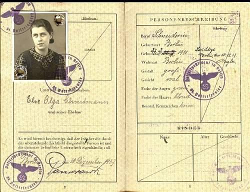 Jewish Reisepasses?
