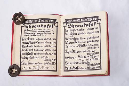 NSDAP party member book