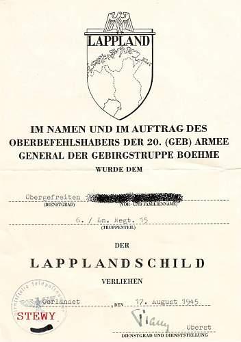 Lappland shield doc