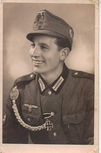 What can you tell me about this photos of my Grand Uncle (Gebirgsjager)?