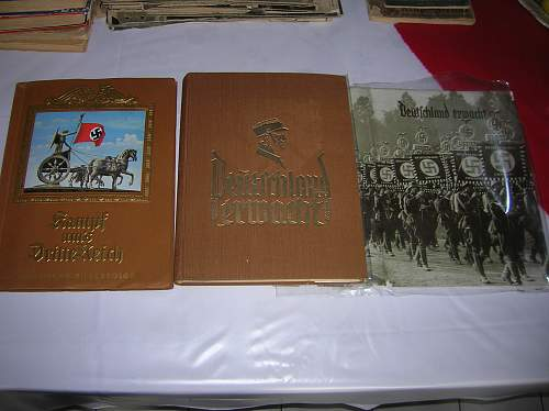 To buy or not to buy? Large collection of period publications and cigarette card albums!