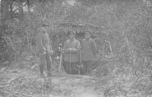 Hindenburg and Ludendorff with officer staff 1918, reconize anyone from the 3rd Riech?