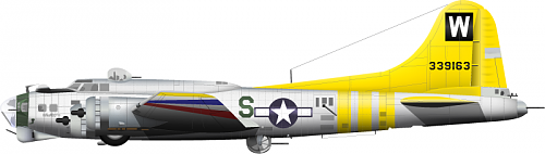 German pictures of a B 17