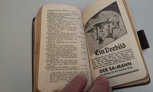 German pocket calenders