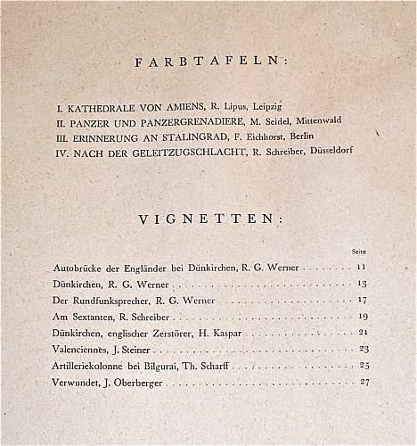BOOK: Feuer und Farbe; 1943