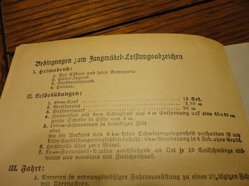 Hitler  Youth Booklet?