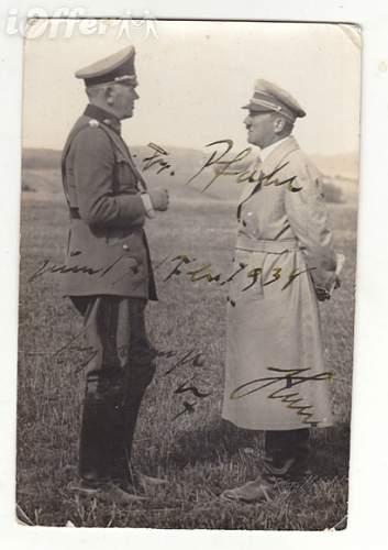 Hitler authentic signature?