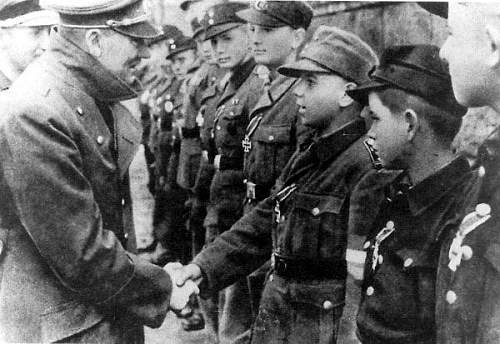 Click image for larger version.  Name:Fuhrer Shaking Hands with Hitler Youth Soldiers.jpg Views:3208 Size:54.4 KB ID:599635