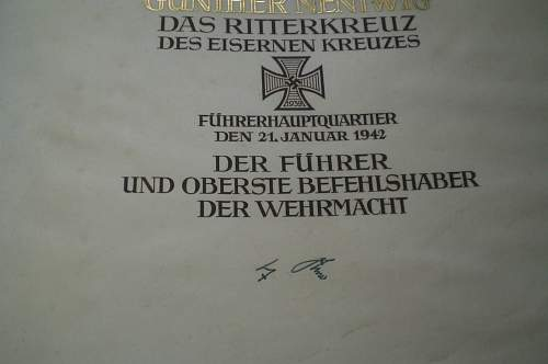 Gunter Nentwig, the real deal RKT.