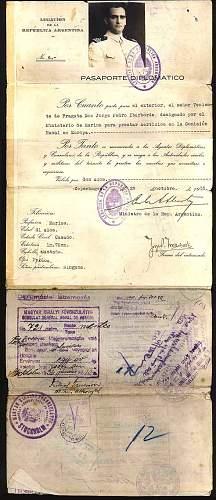 pre-war passport