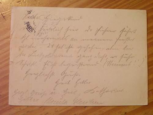 Need help translating a postcard