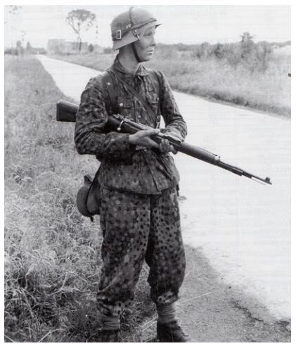 Photo with SS 44 dot trousers and Jackboots?