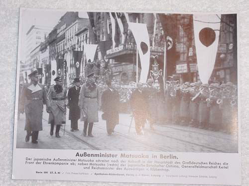 Click image for larger version.  Name:Aussenminister Matsuka in Berlin 27-3-41_1.jpg Views:15 Size:148.6 KB ID:614215