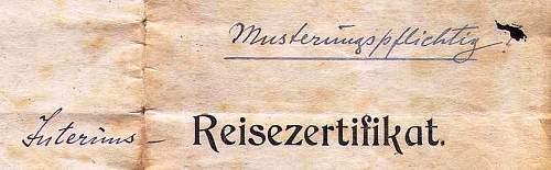 German writing...