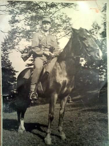 Relatives photo German Army