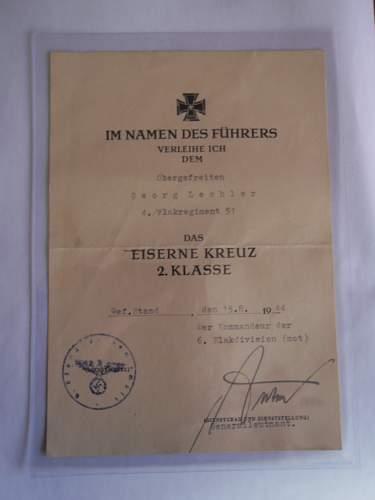 EK2 Award Document - Need Opinions