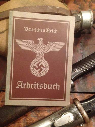 Fabulous Collection of Nazi Documents.