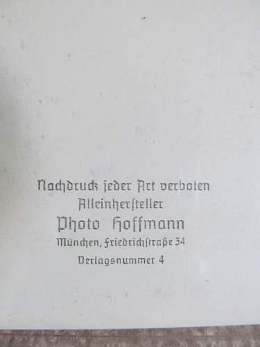 Hoffmann photo's of Hitler
