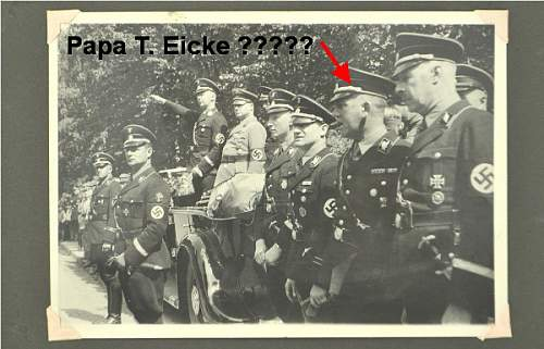 The man in this picture with an arrow pointed is Papa T. Eicke?
