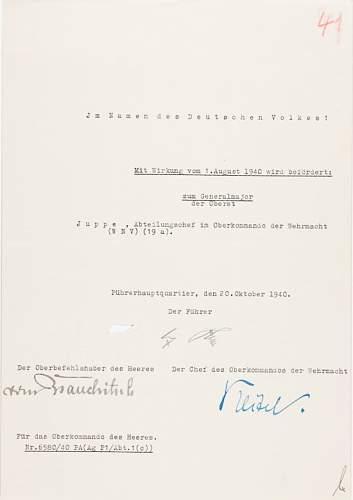 Adolf Hitler signature, real?