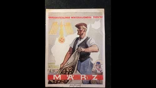 Grossdeutschlands winterhilfswerk 1939/40