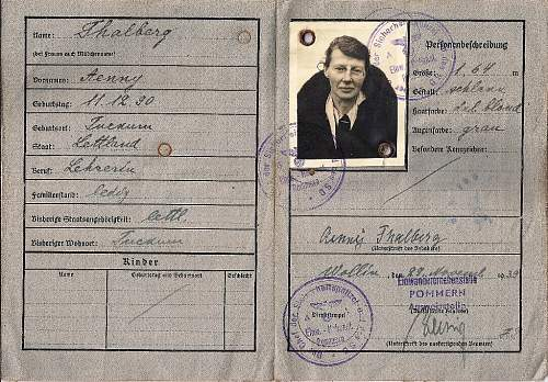 1939 German ausweis?