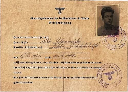 fishy ausweis 1942?