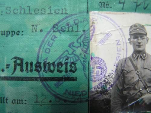 SA Ausweis Thoughts