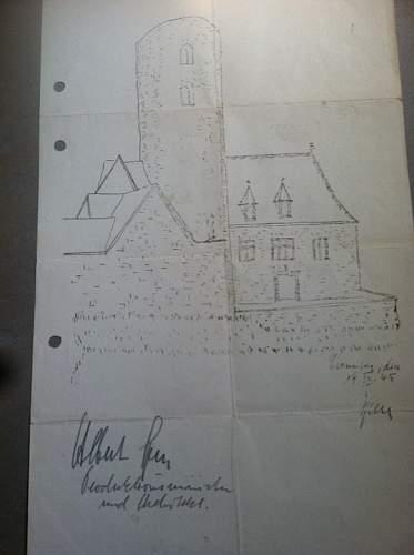 Nuremberg Trials Nazi Defendant Autographs