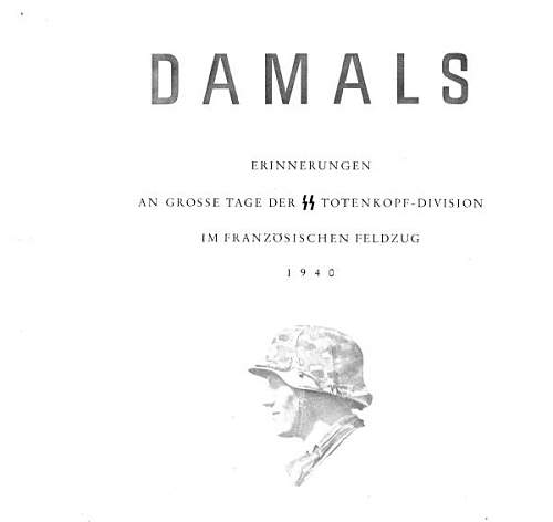 Damals - Totenkopf in France