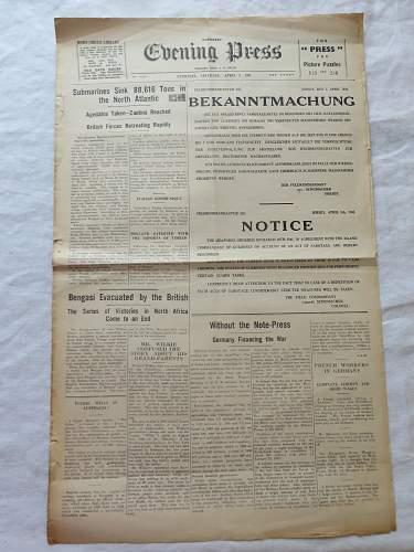 Guernsey  Evening Press.