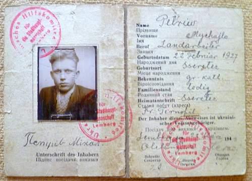 Docs/Photos German/SS/Polish Para/Ukranian  Your opinions please??