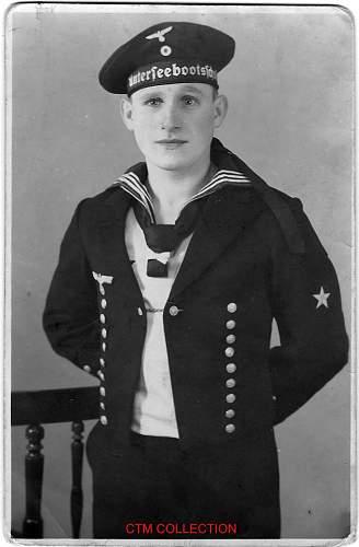 German U Boat sailor photo
