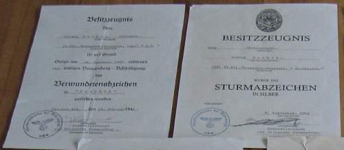 GD Award Citation's - Help Needed Please