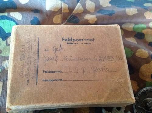 Feld post number I.D.